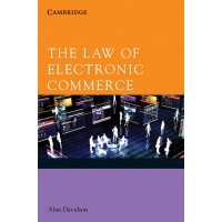 The Law of Electronic Commerce South Asian Edition